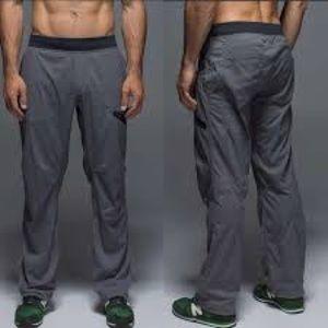 Gray Lululemon Seawall Pant